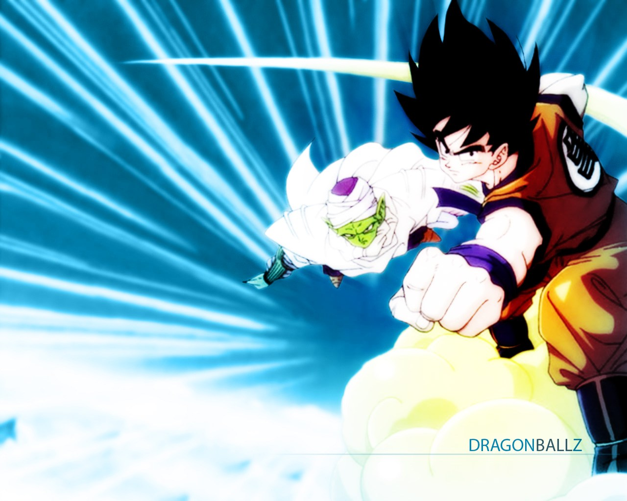 Goku y Piccolo Jazano Wallpapers Anime Dragn BallNaruto 1280x1024