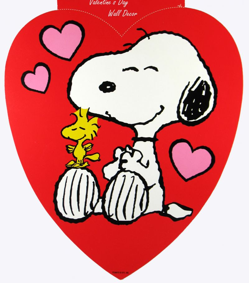 Peanuts Valentines Day Wallpaper Valentines day wall decor 800x910