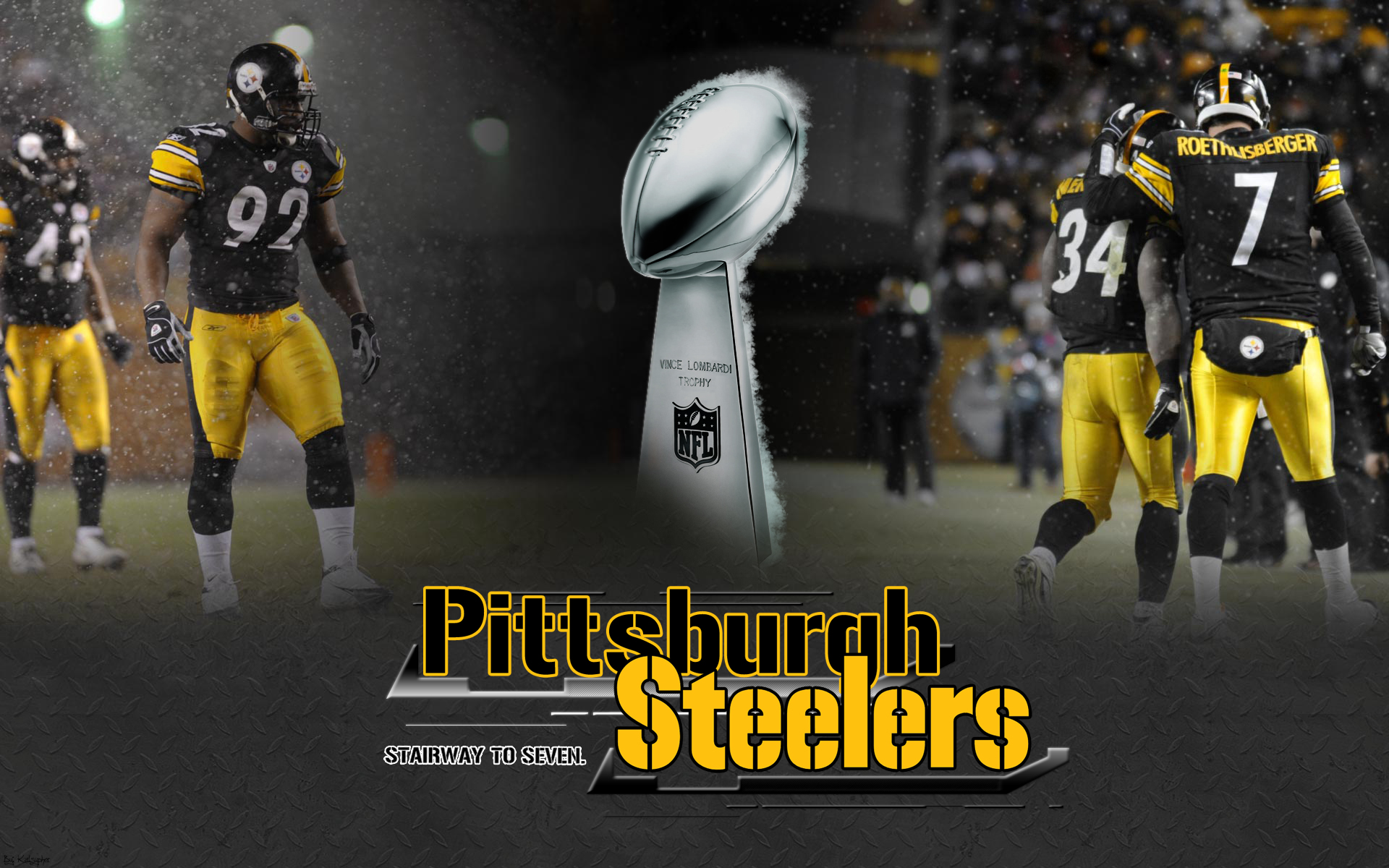 steelers wallpaper desktop pittsburgh collection ultimate seven 1920x1200