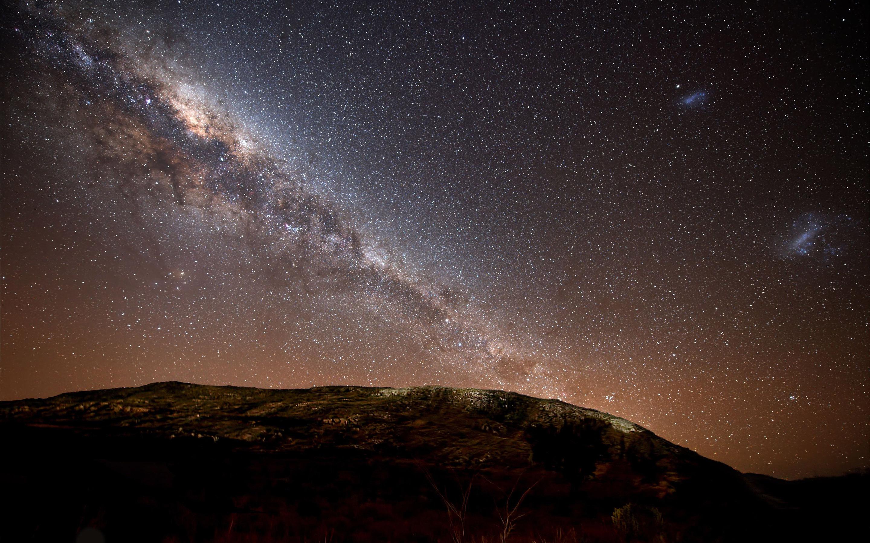 Bright night sky Wallpaper 7858 2880x1800