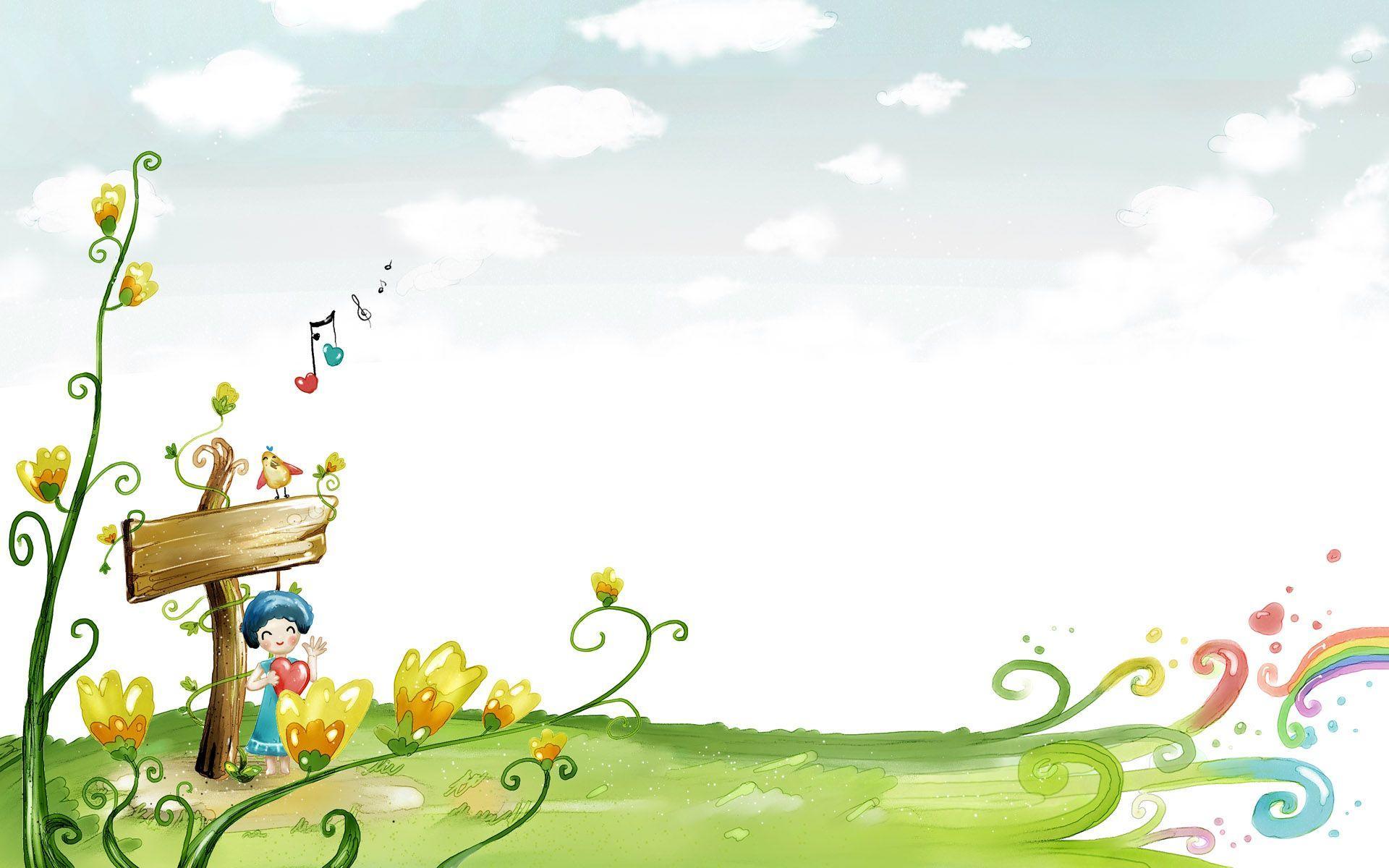 Cartoon Backgrounds Image 1920x1200