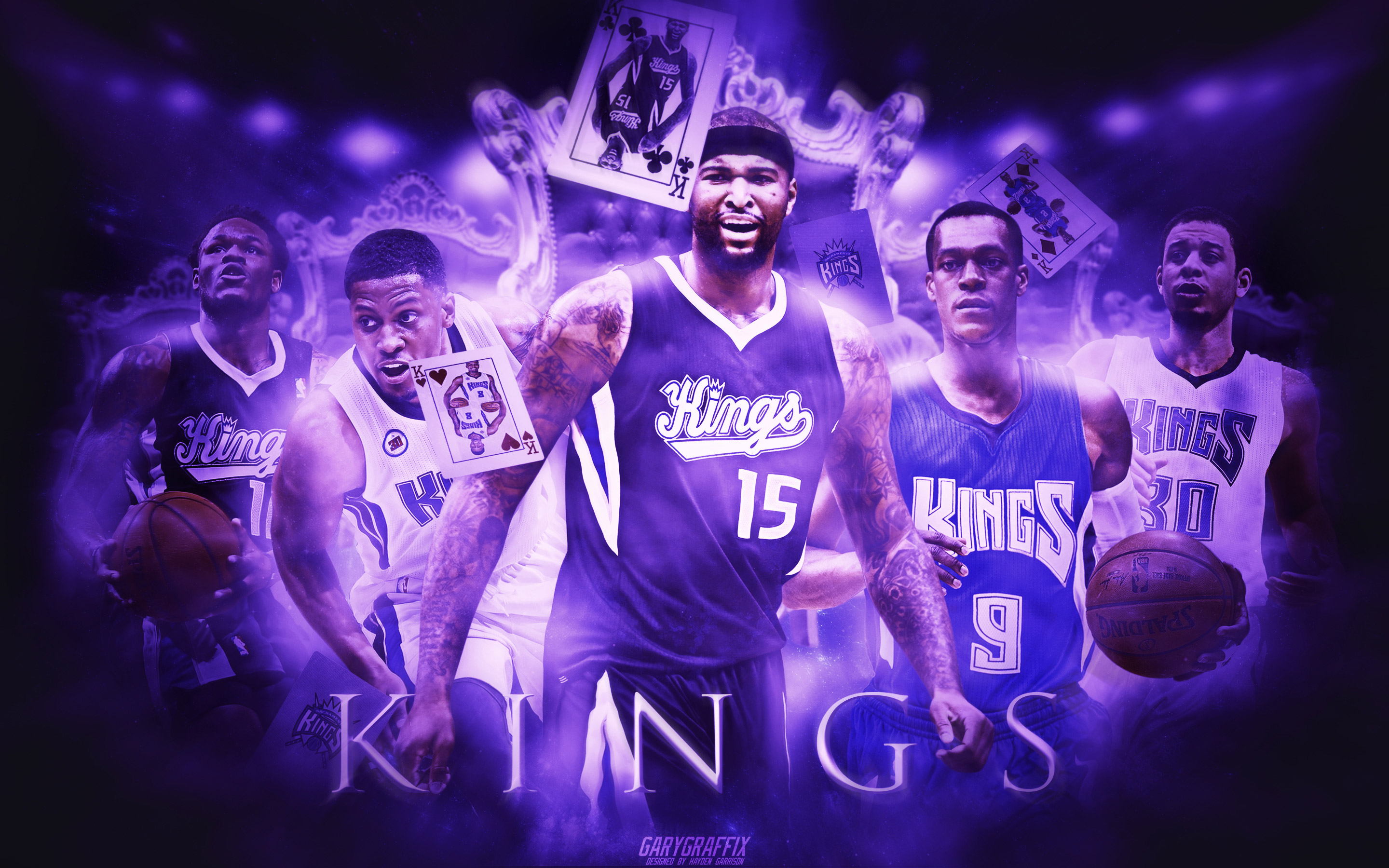 Sacramento Kings 2015 2016 Wallpaper Basketball Wallpapers at 2880x1800
