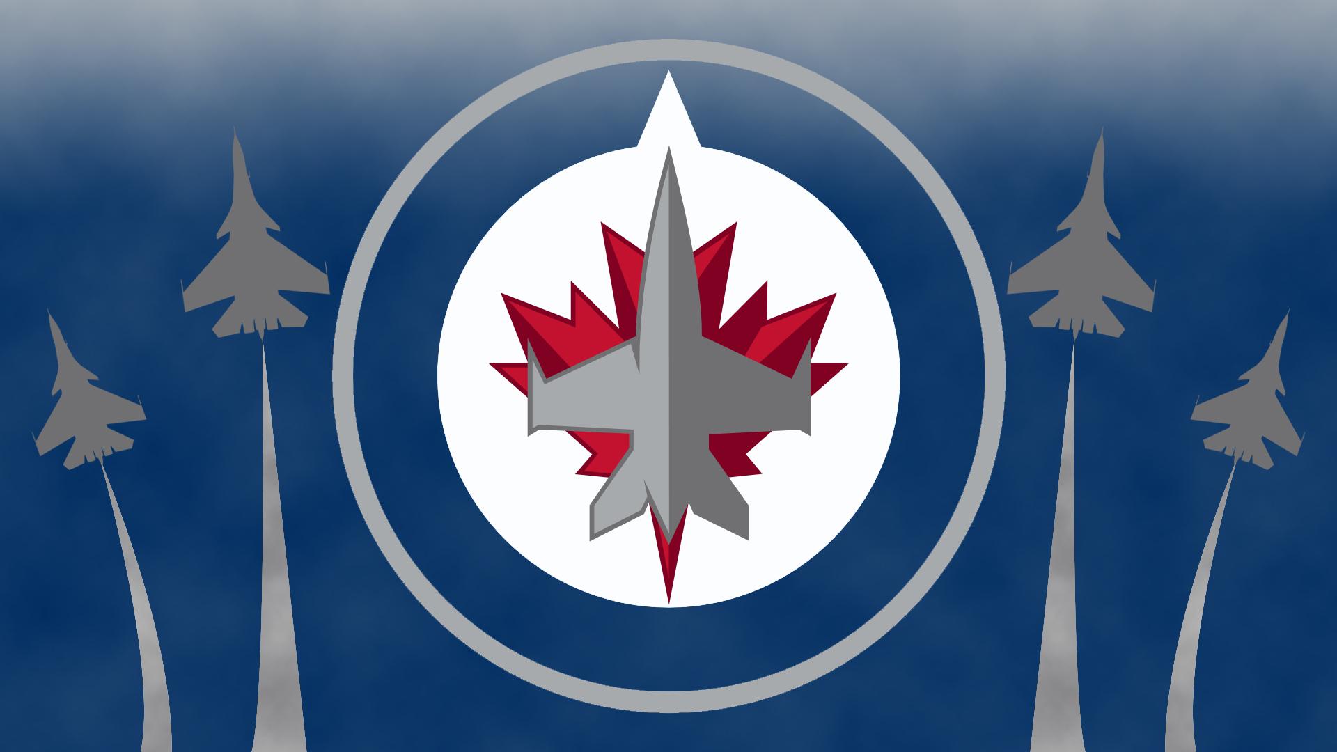 Winnipeg Jets New Logo wallpaper   561377 1920x1080