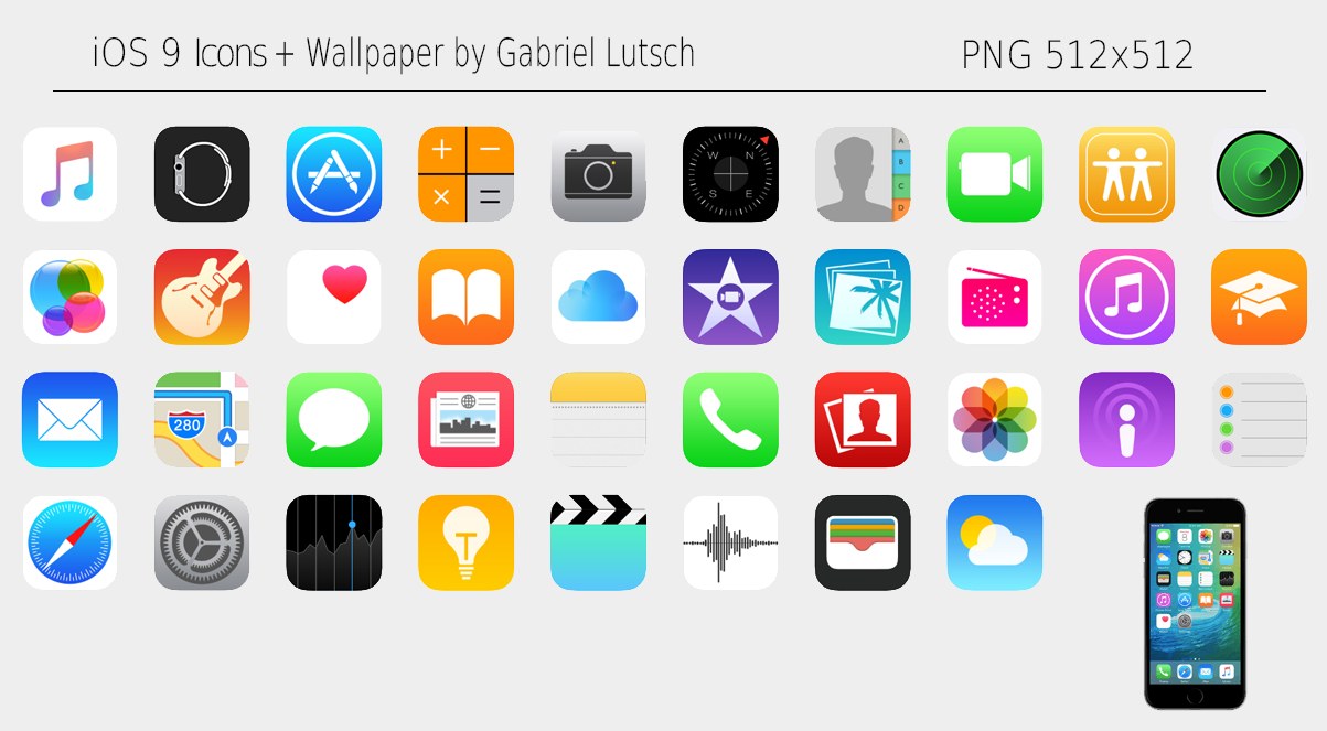 Wallpaper Apps For Ios: IOS 9 Wallpaper Pack