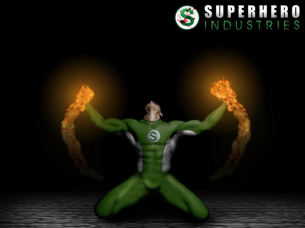 Superhero Icon Iphone Wallpaper Superhero industries wallpaper 1024x768