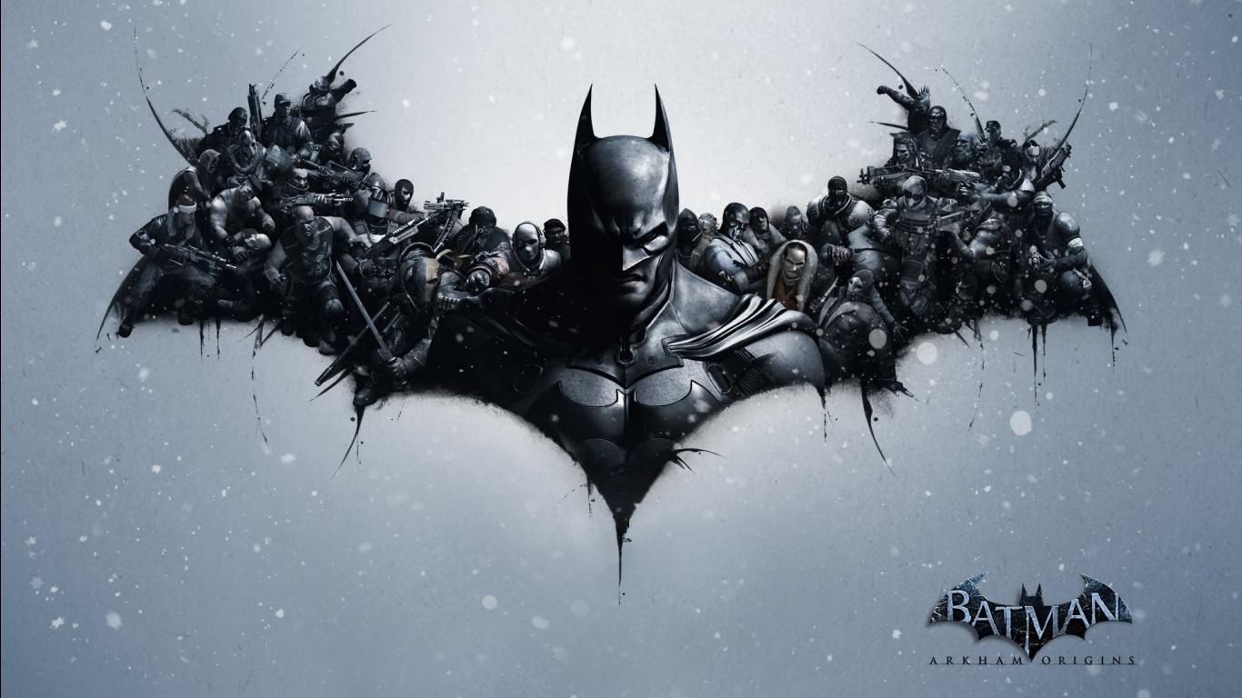 Batman Arkham Origins Video Game Wallpapers HD Wallpapers 1366x768