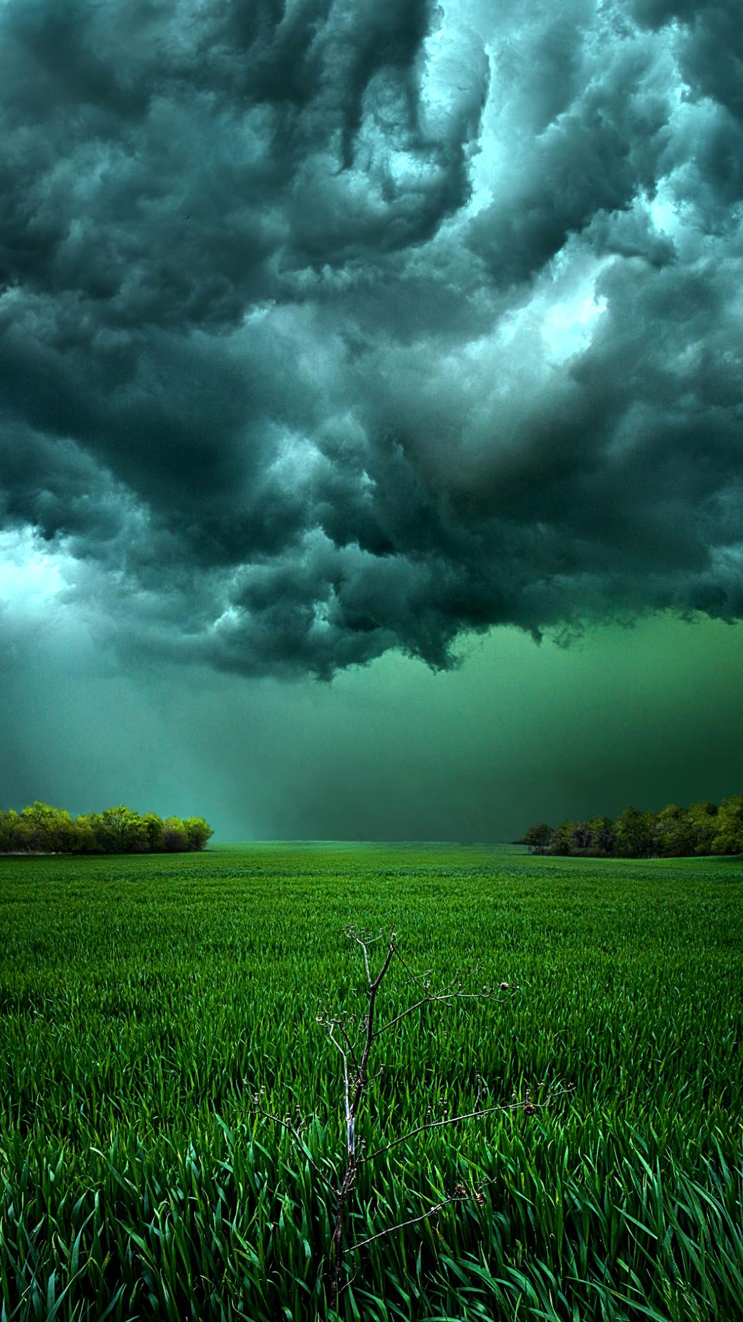 Cloudy sky Galaxy S4 Wallpaper 1080x1920