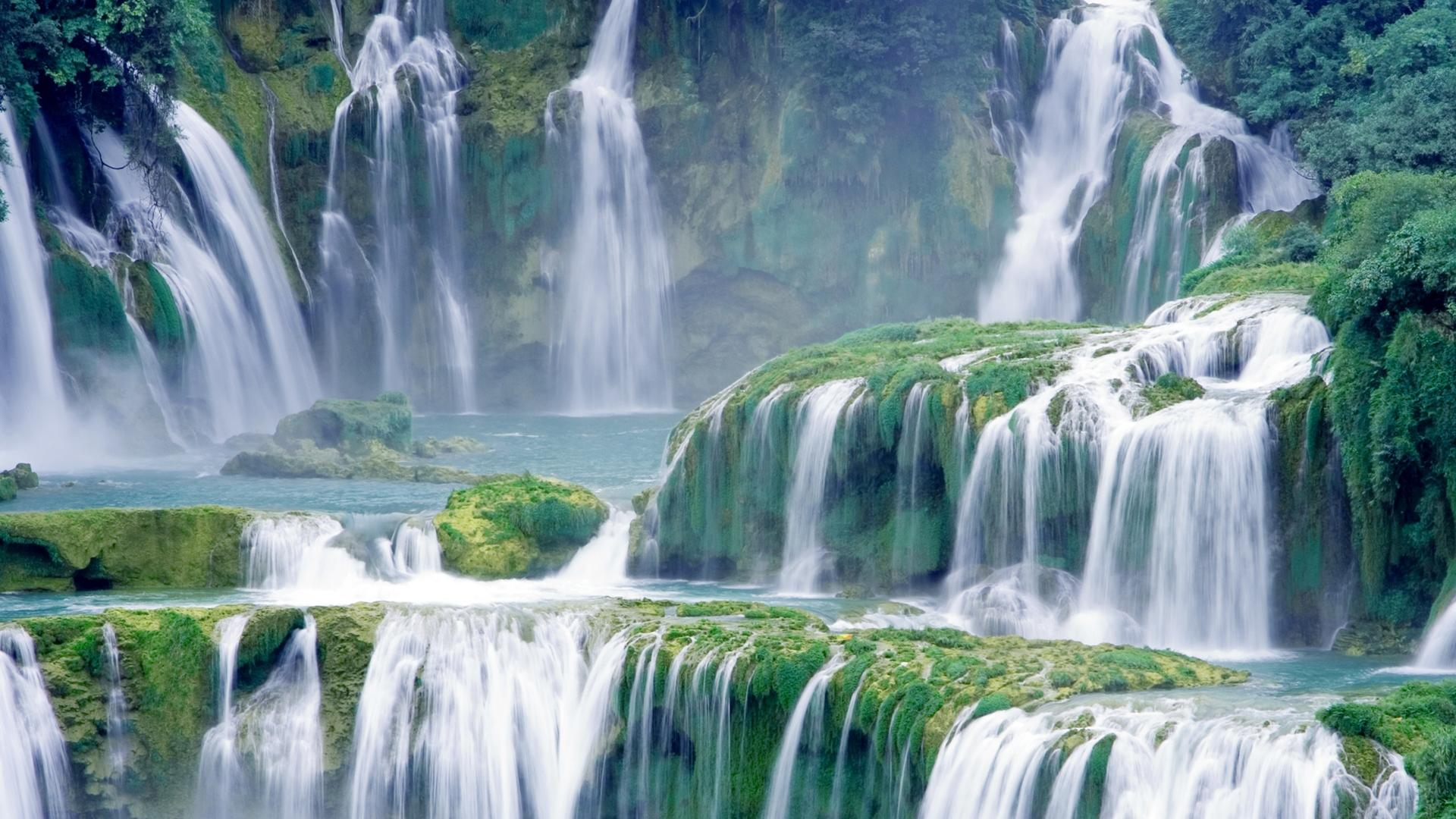 waterfall wallpapers high resolution - photo #14