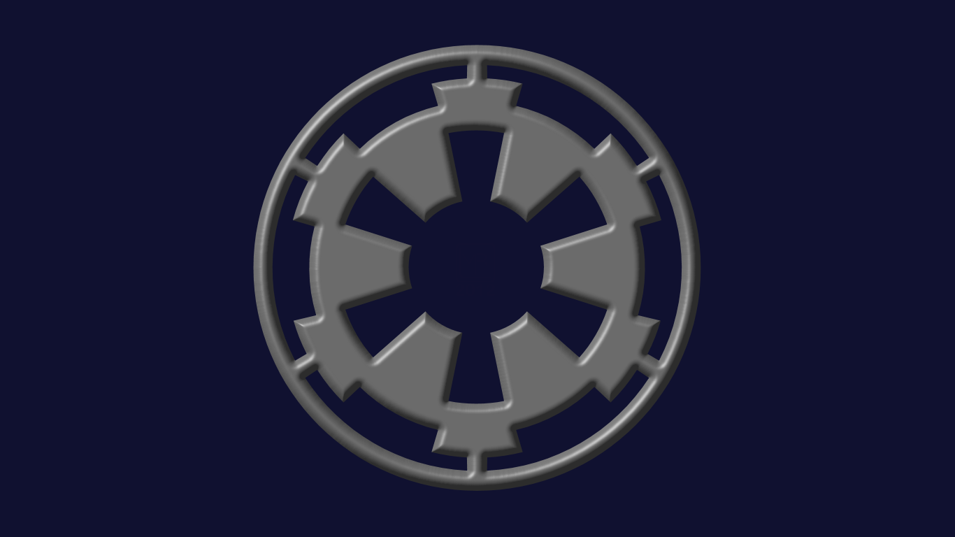 Star Wars Symbols Wallpaper Galactic Empire 1366x768