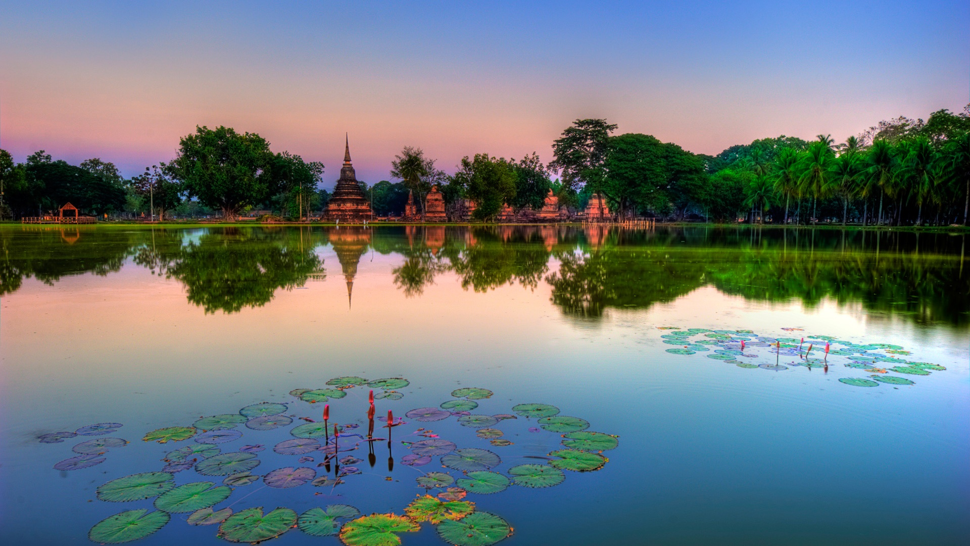 sukhothai historical park thailand wallpapers hd wallpapers