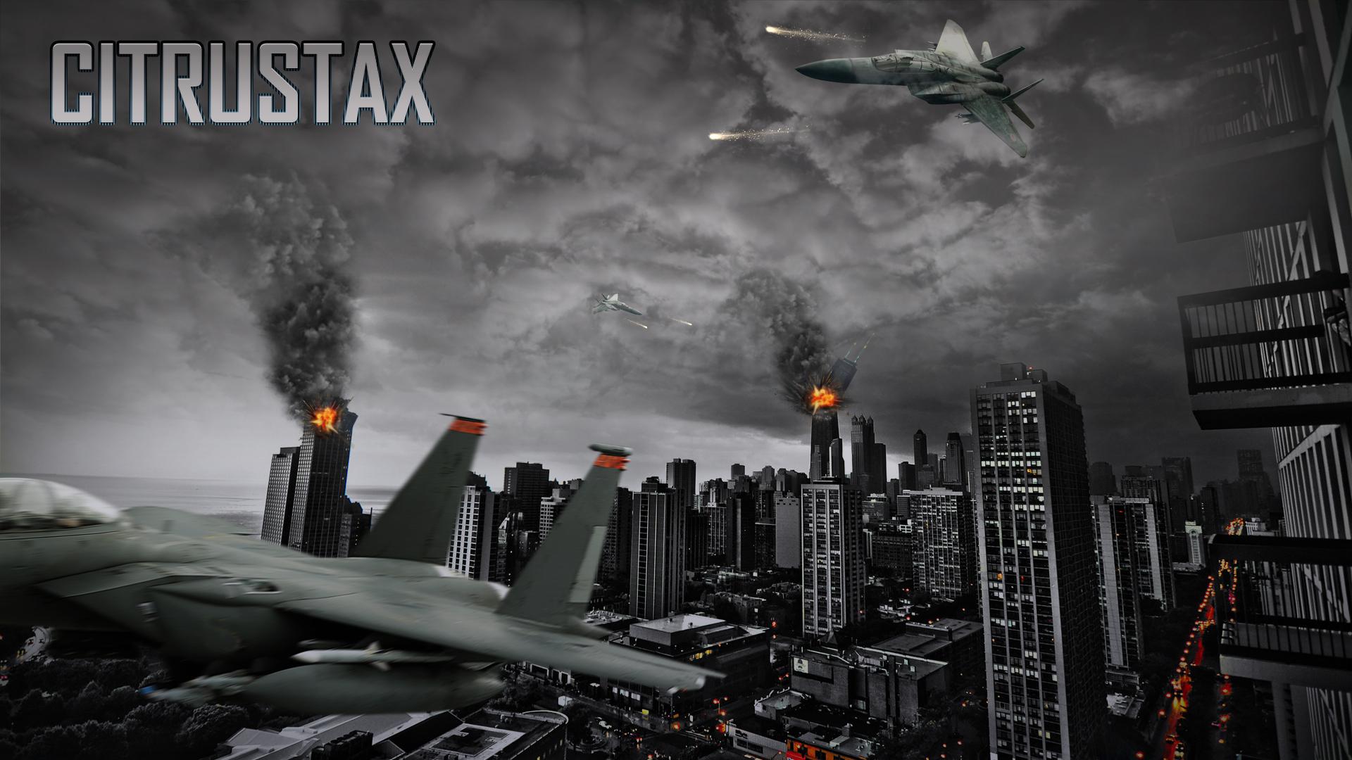 Battlefield 3 wallpaper 1080p City War by PixelDesignNL 1920x1080