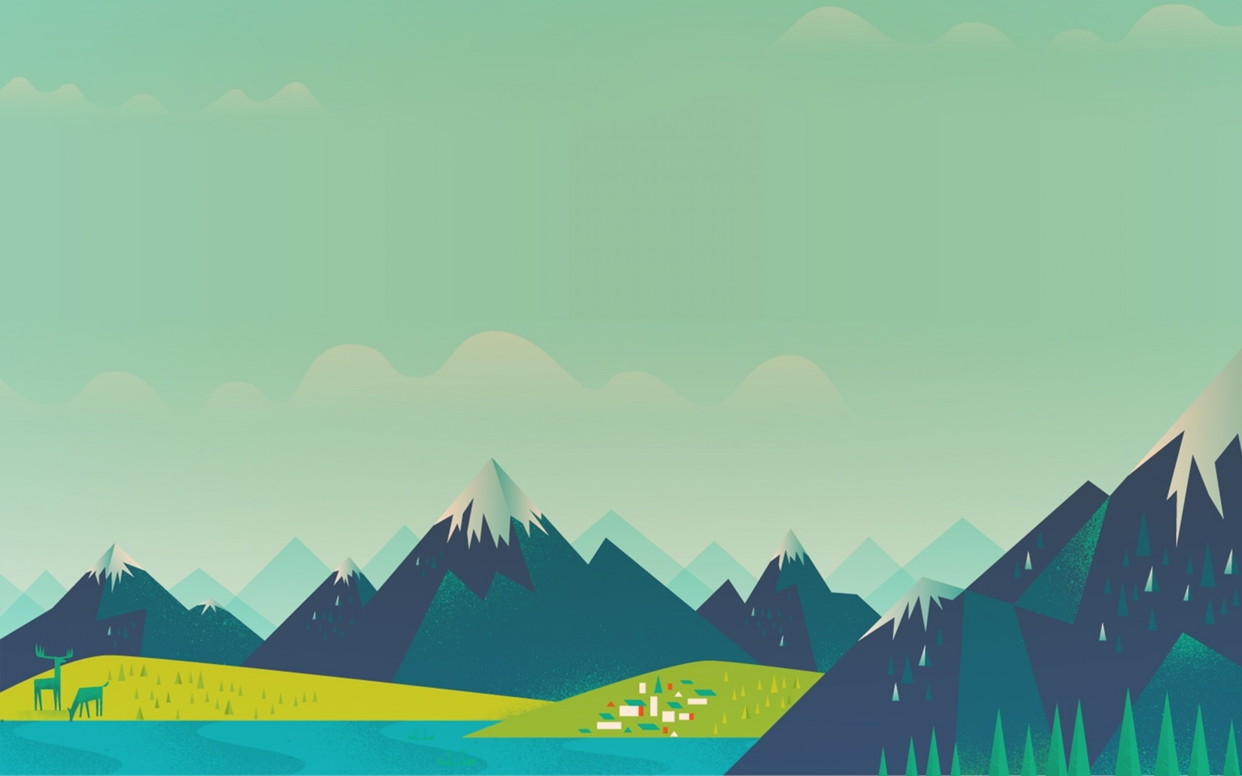 android google moutain google now 1920x1080 wallpaper Wallpaper HD 2560x1600