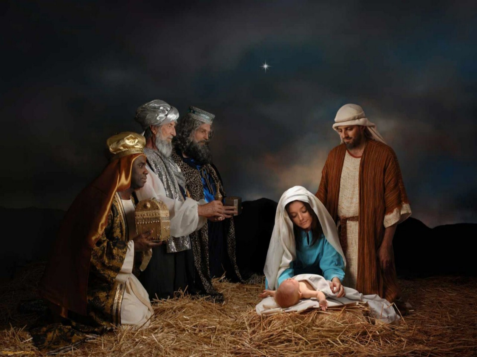 christmas nativity backgrounds wallpaper  jpeg otherjpg 1600x1200
