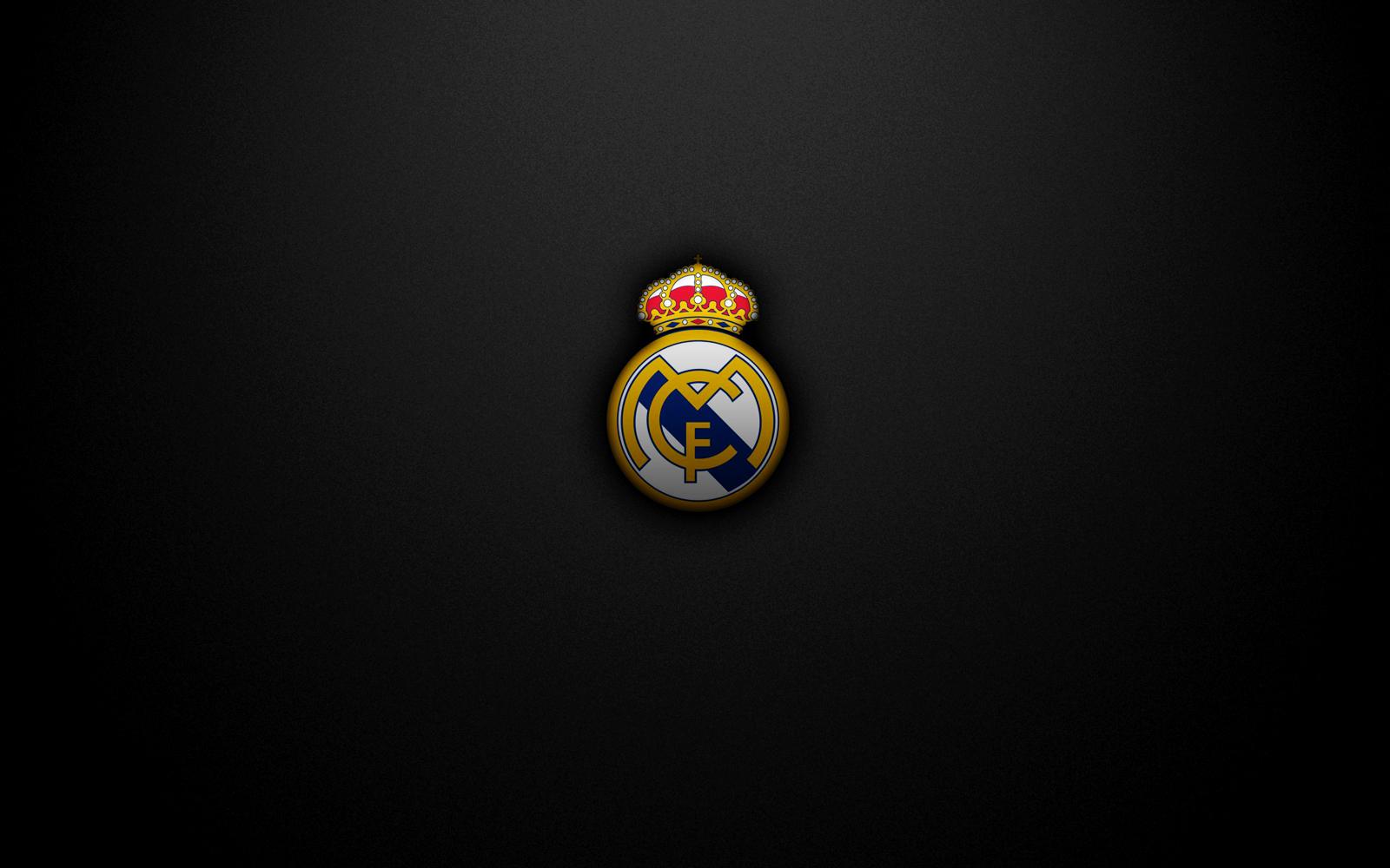 Real Madrid CF Logo HD Desktop Wallpapers Download Wallpapers in 1600x1000