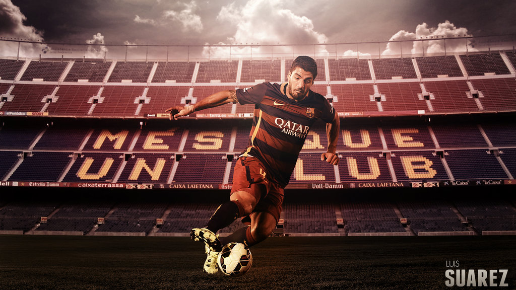 Luis Suarez 20152016 Wallpaper by RakaGFX 1024x576