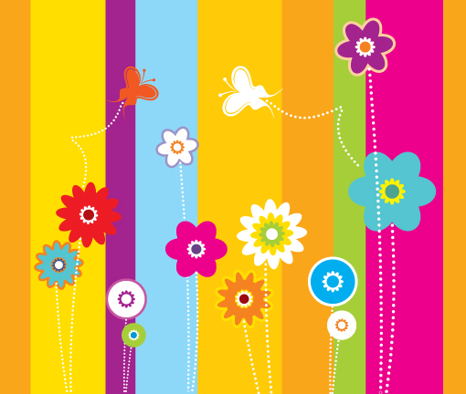 Cute Colorful Backgrounds 510x432