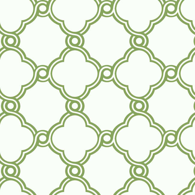 Green AP7484 Open Trellis Wallpaper   Contemporary Modern 650x650
