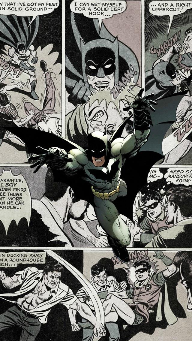 Batman Comic iPhone 5 Wallpaper 640x1136 640x1136
