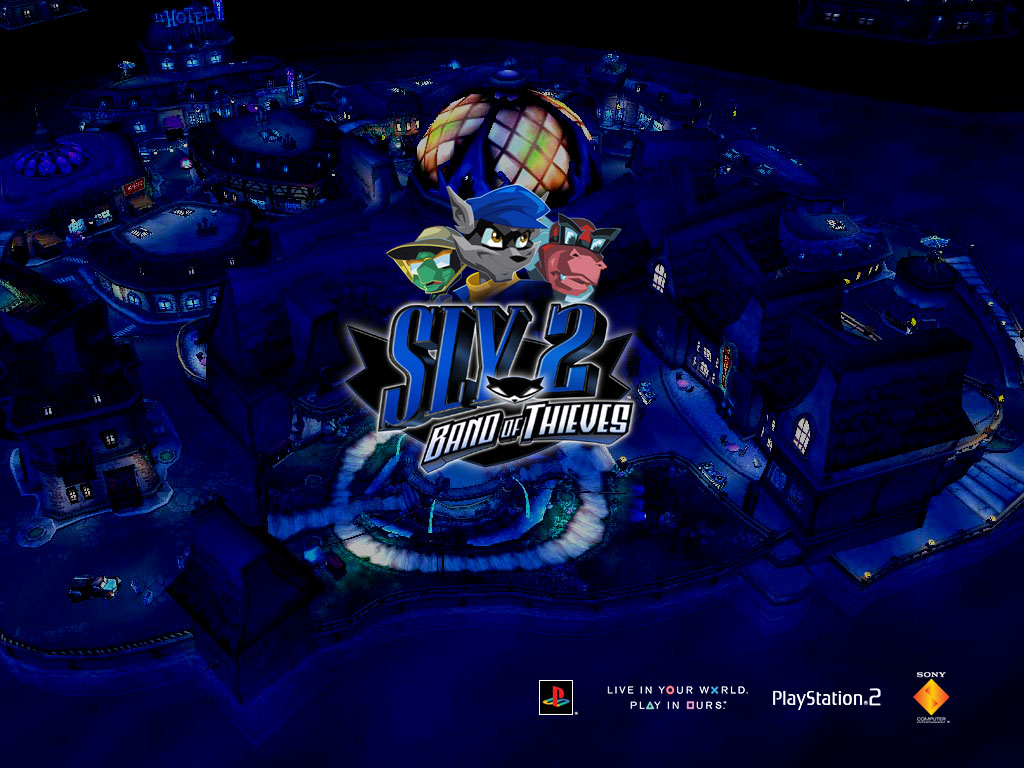 Sly Cooper Wallpapers 1024x768