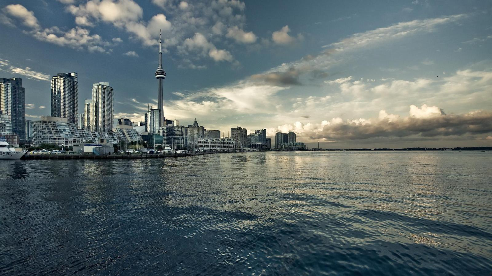 Pin Toronto Canada 1920x1200 Wallpapers Download Desktop Hd on 1600x900