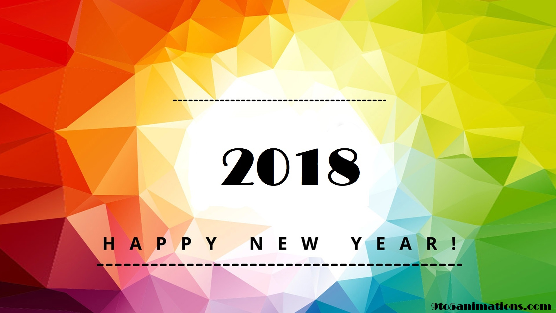 Wallpaper Hd Happy New Year 2018 Festival Collections 1920x1080