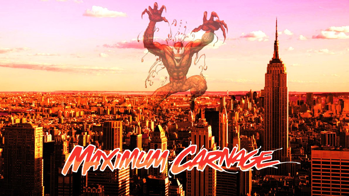 Maximum Carnage Cover Remake by ProfessorAdagio 1191x670