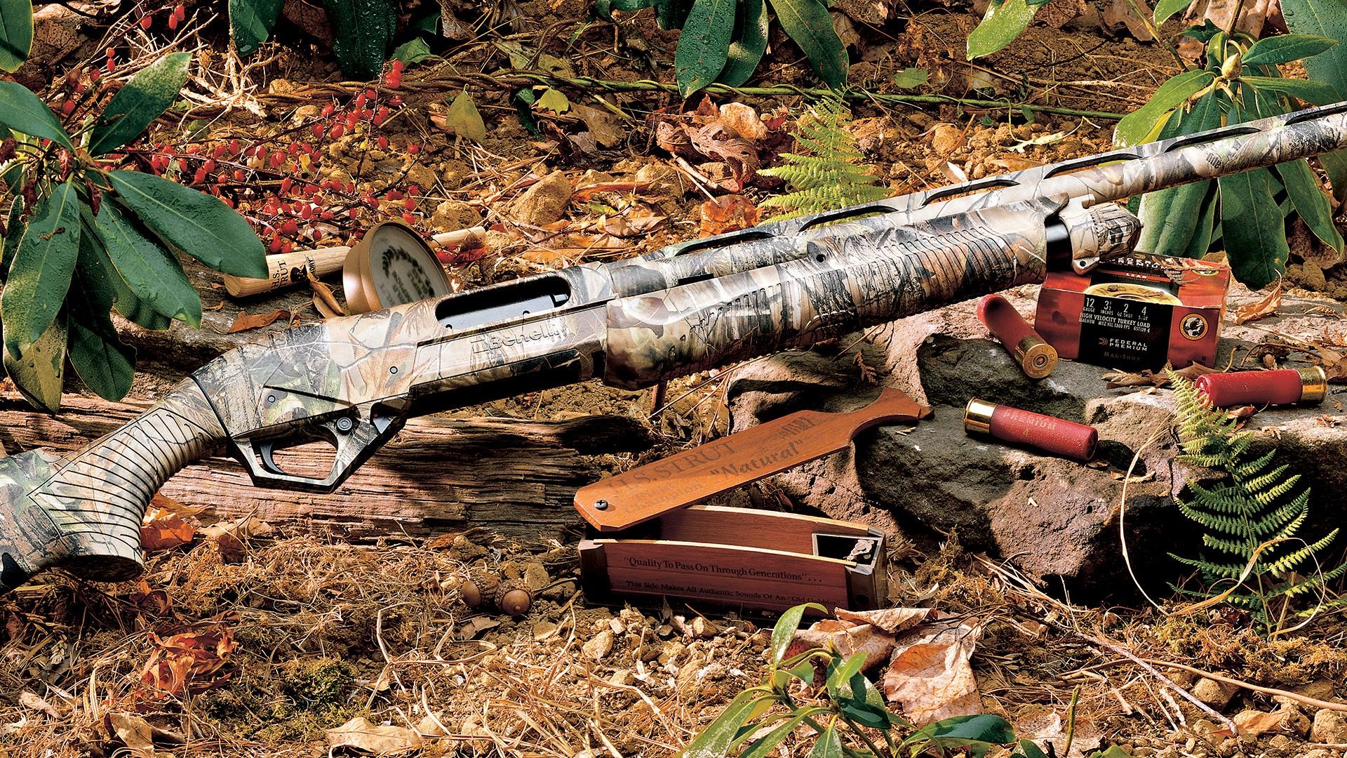 Shotgun for Hunting in Jungle HD Desktop Images HD Wallpapers 1920x1080