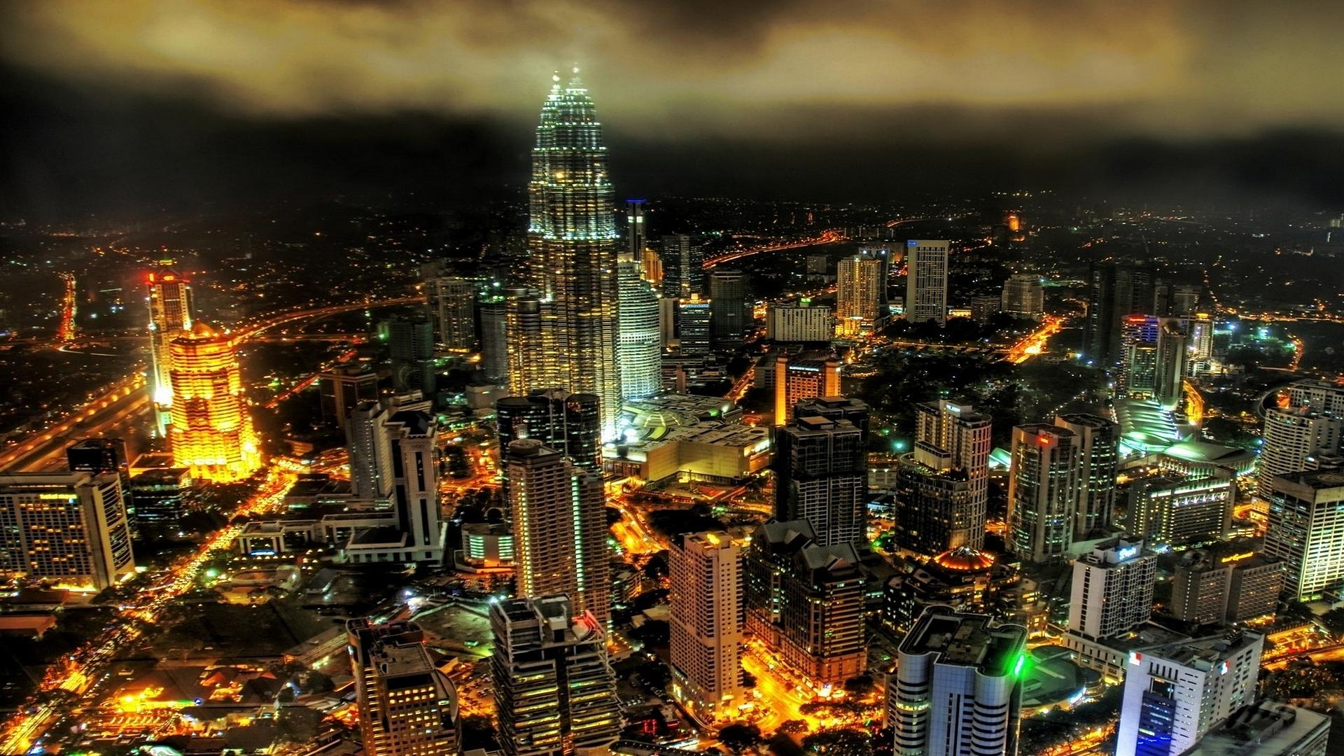 Dynamic City Backgrounds Desktop Image 1920x1080