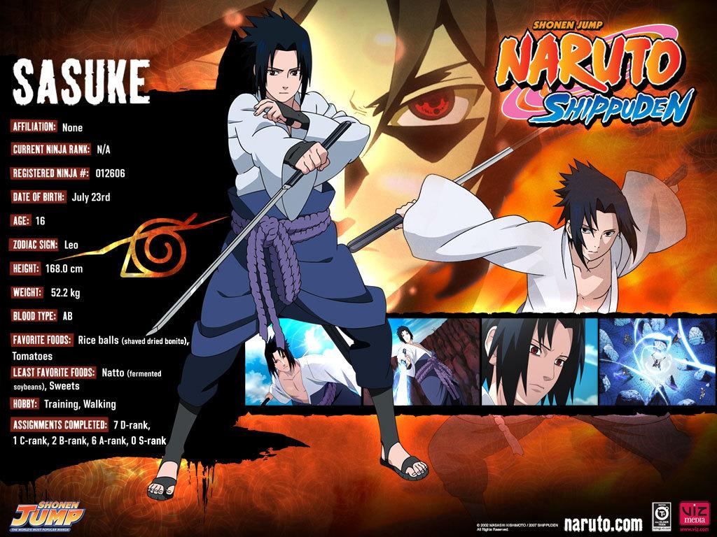Sasuke   Naruto Shippuuden Wallpaper 8607272 1024x768