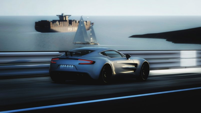 Home Cars Aston martin Gorgeous aston martin one 77 wallpaper 804x452
