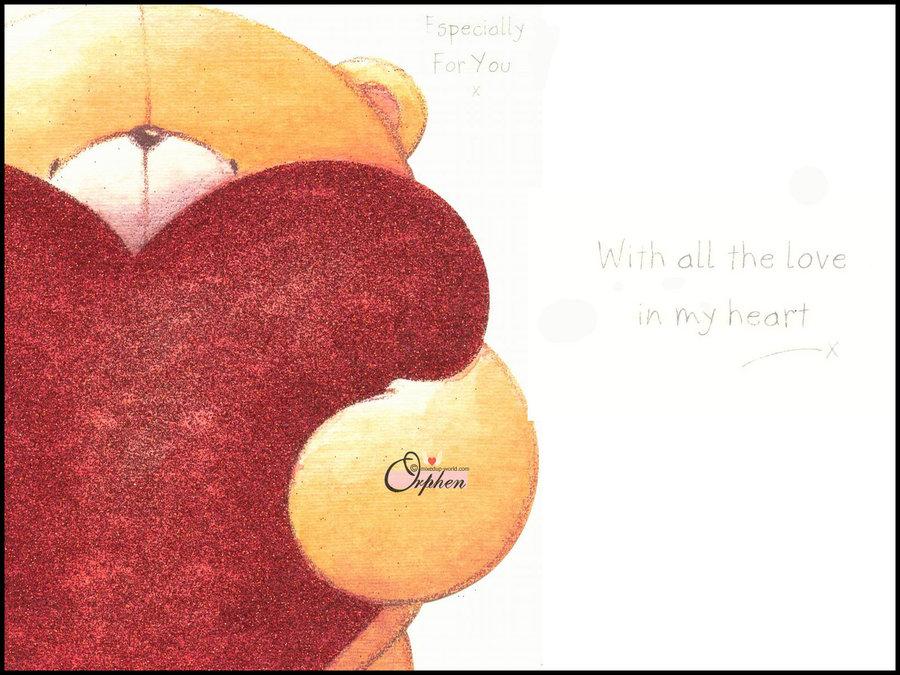 forever friends bear wallpaper 900x675