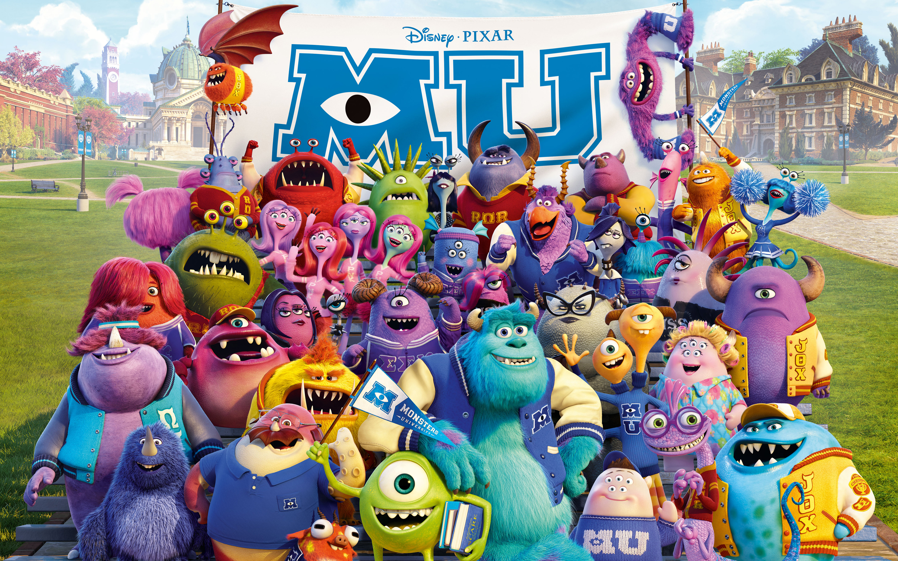 Monsters University 2013 Wallpapers HD Wallpapers 2880x1800