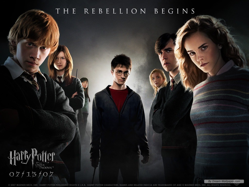 Wallpaper   Movie wallpaper   Harry Potter And The Order Of 1024x768