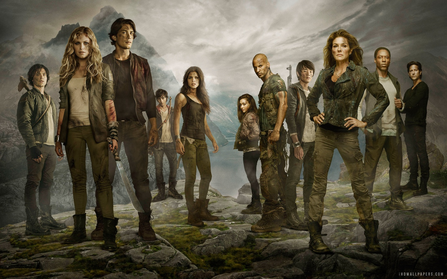 The 100 TV Series 2014 HD Wallpaper   iHD Wallpapers 1440x900