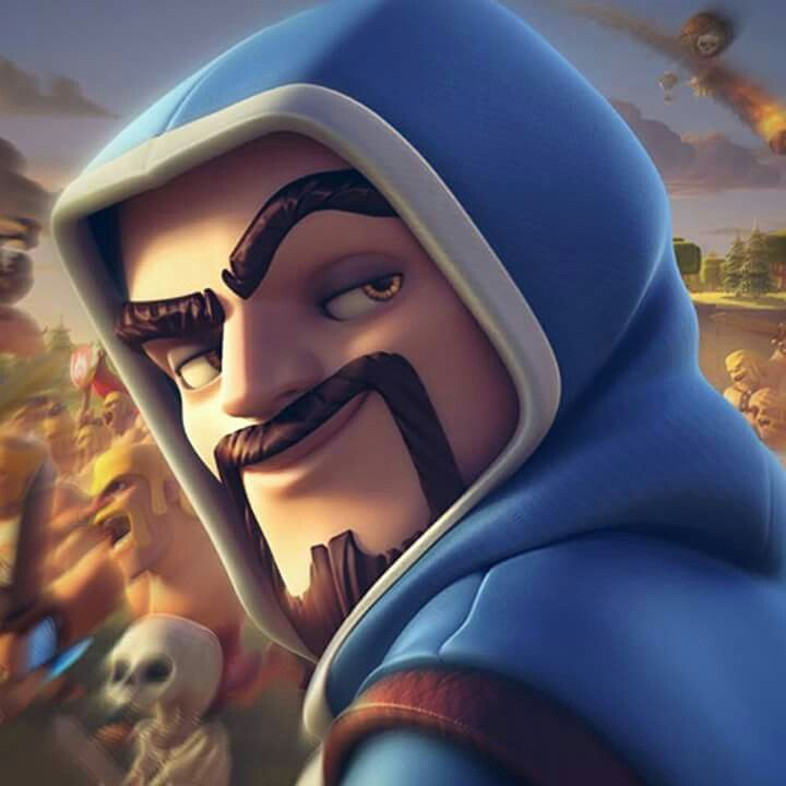 Wizard Clash Royale Wallpaper Pictures to Pin 720x720
