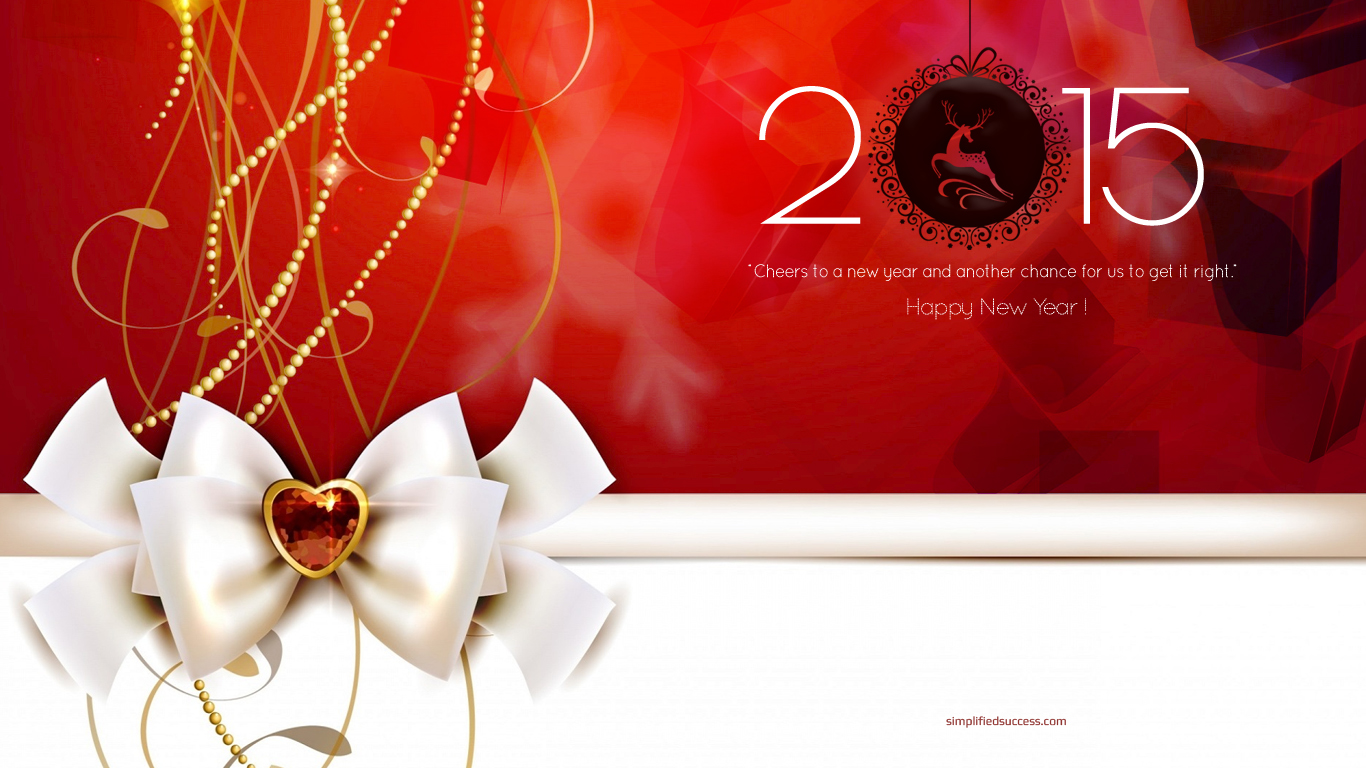 Happy New Year 2015 Full HD Wallpaper Download Download 1366x768