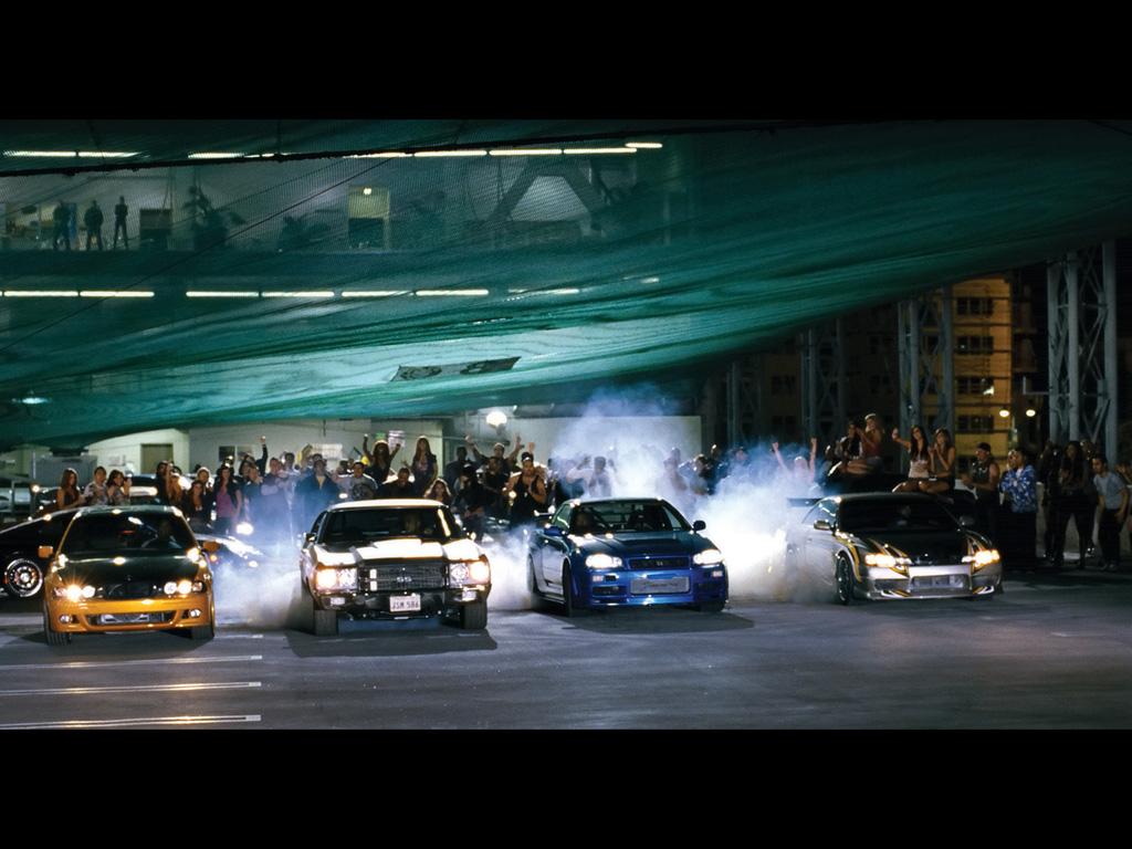 Fast Furious Movie Cars   Race   1024x768   Wallpaper 1024x768