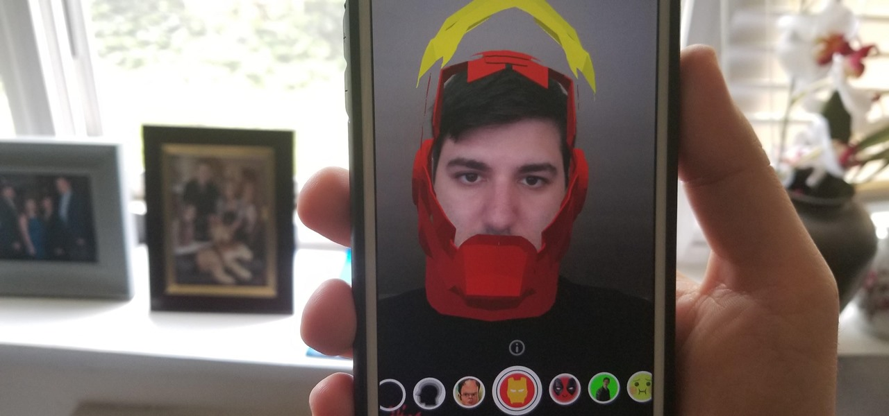 Try These 5 Hot New Snapchat Lenses Iron Man iDubbz More 1280x600