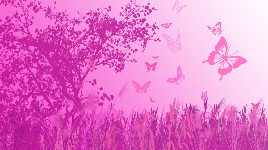71+ Pink Butterfly Backgrounds on WallpaperSafari