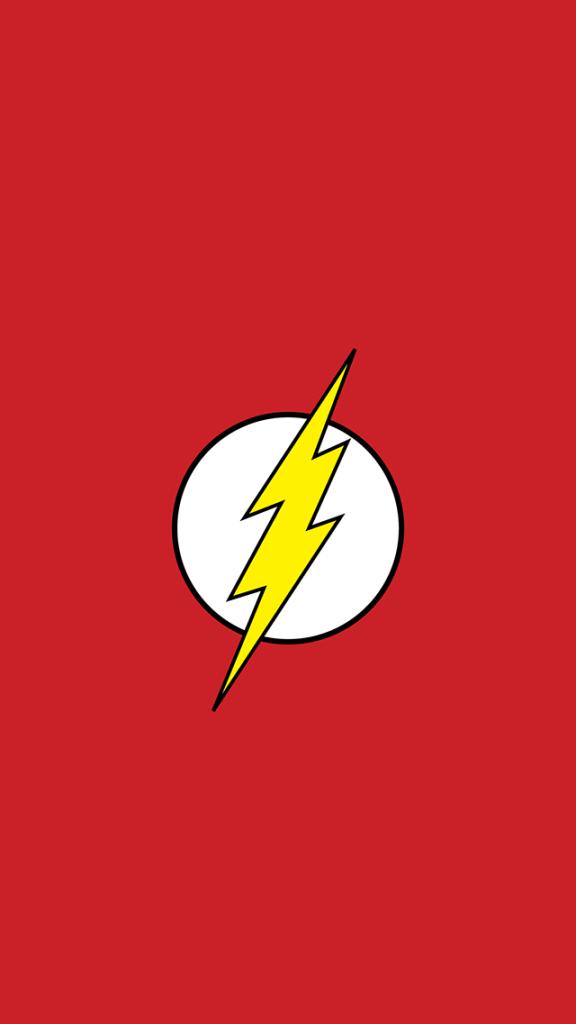 10 Minimalist Superhero iPhone wallpapers 576x1024