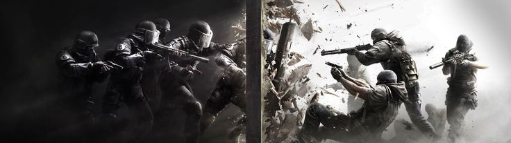 Dual monitor wallpaper Gaming Pinterest 736x207