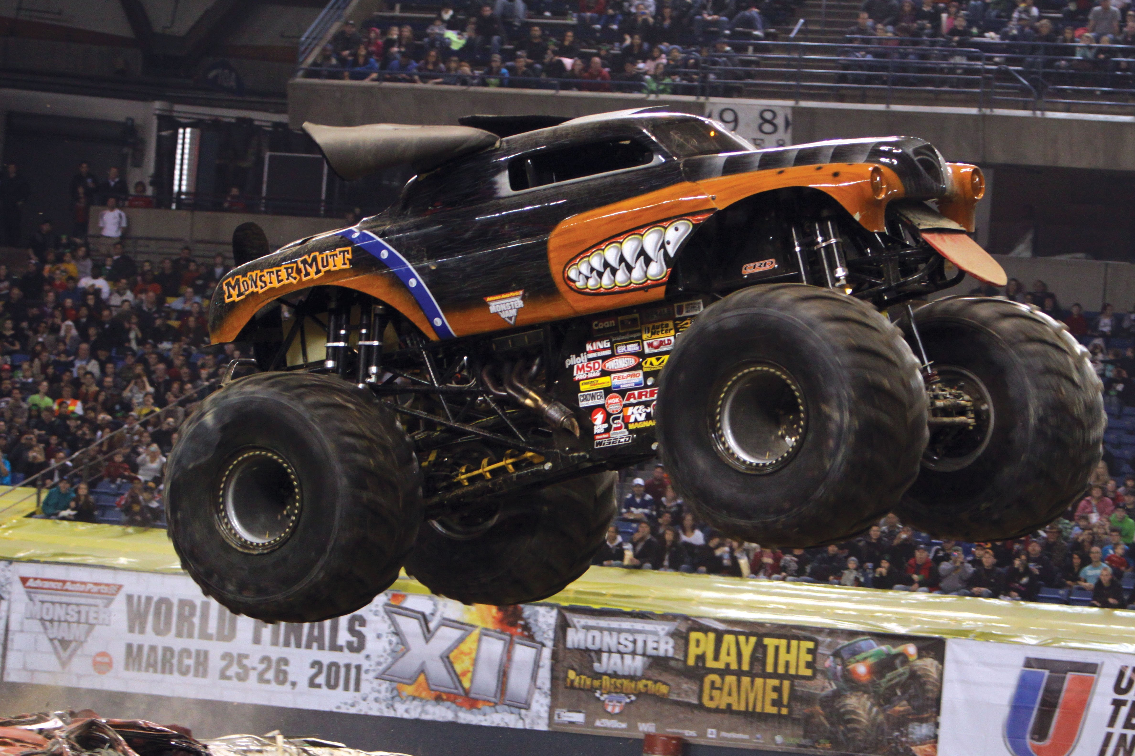 All Monster Jam drivers tend to have athletic backgrounds but your 4752x3168