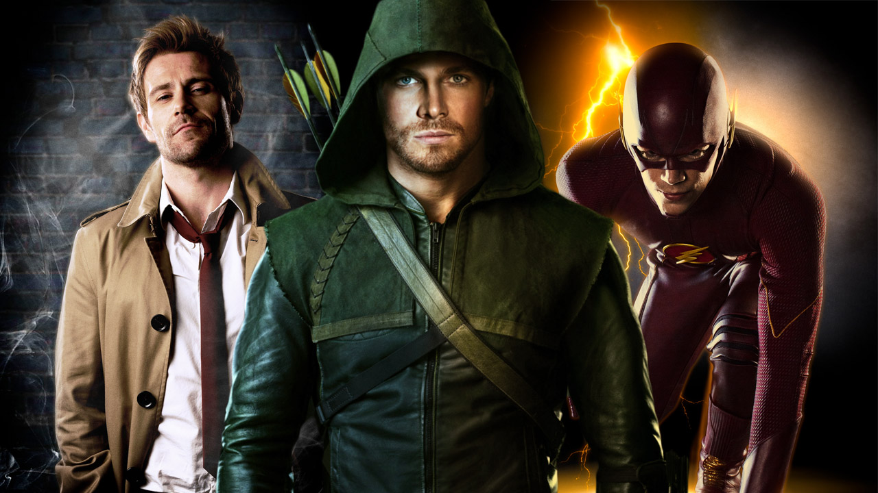 Arrow The Flash Constantine and Gotham Should There Be One Shared 1280x720