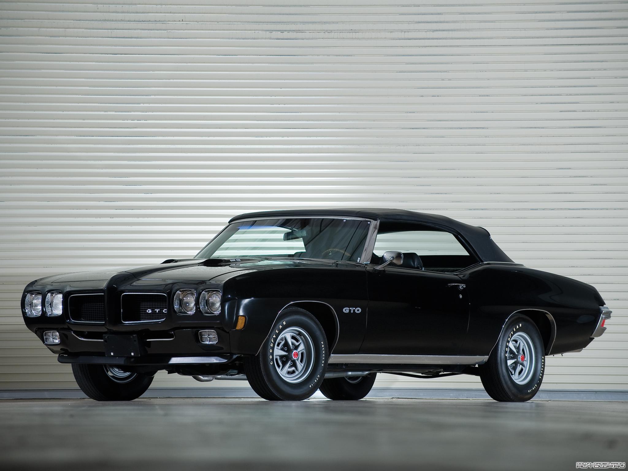 Pontiac GTO Convertible 1970   Wallpaper 22192 2048x1536