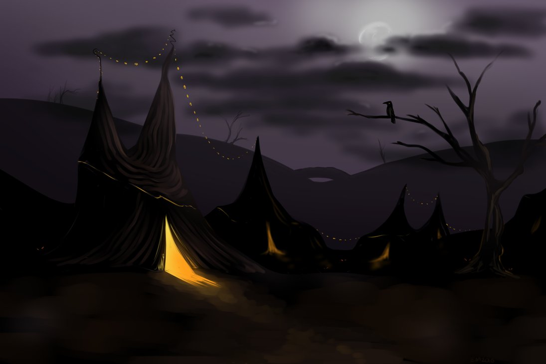 Creepy Circus bg concept 1 by ZazzyPaws 1095x730