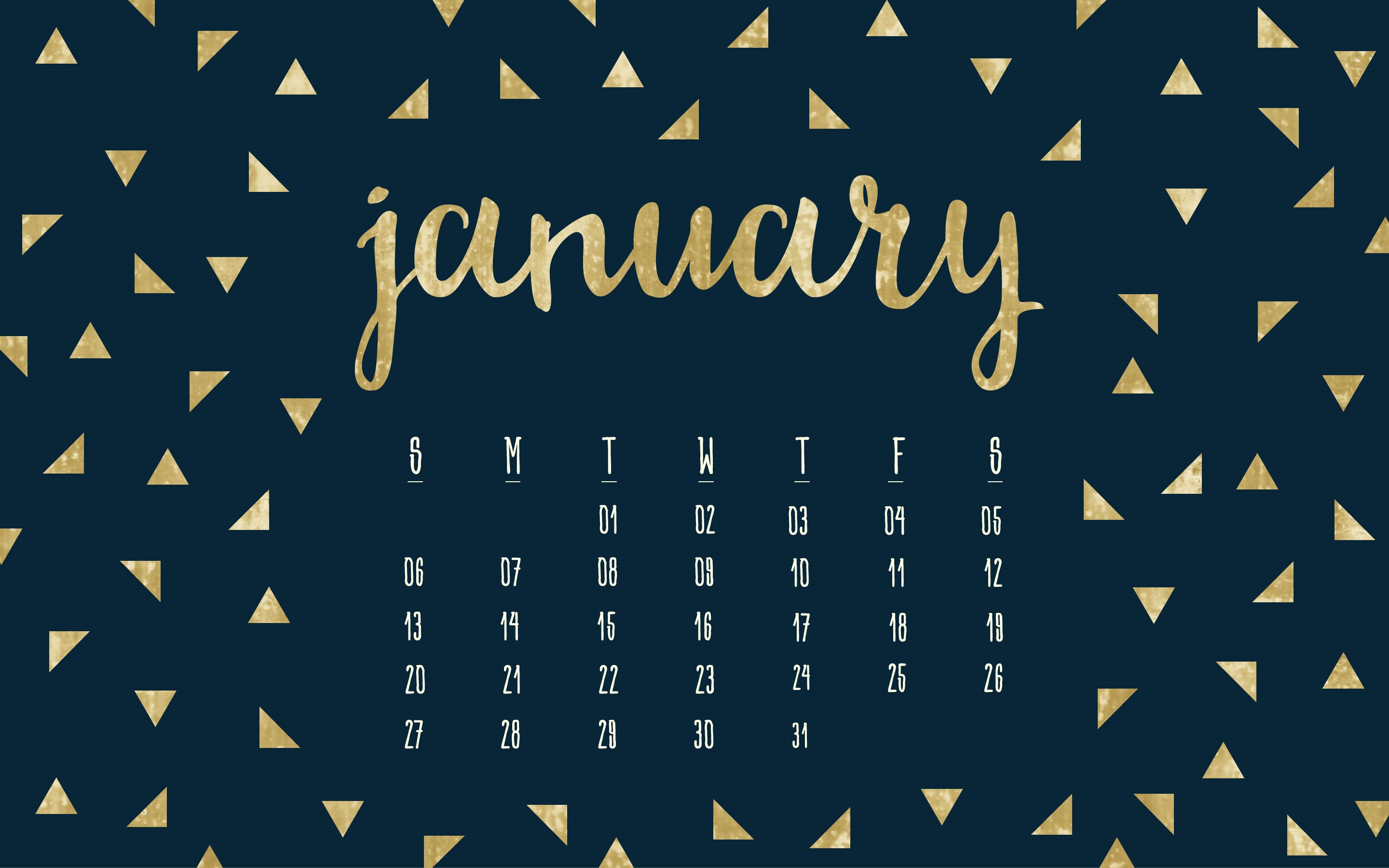 January 2019 HD Calendar Wallpapers Latest Calendar 2880x1800