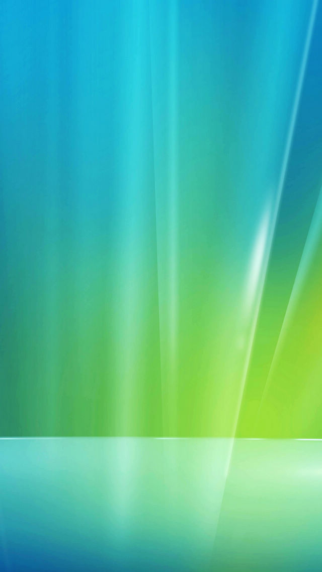 Blue green light background iPhone 5 wallpapers Top iPhone 5 640x1136