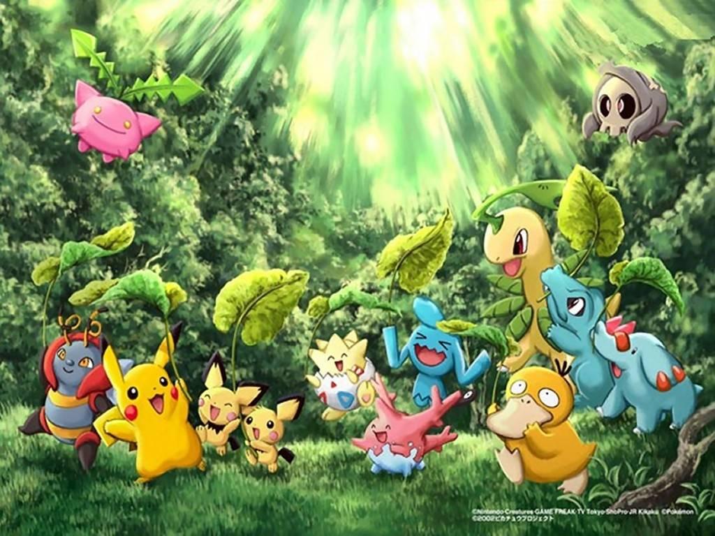 cool pokemon wallpaper   Pokemon Wallpaper 1024x768