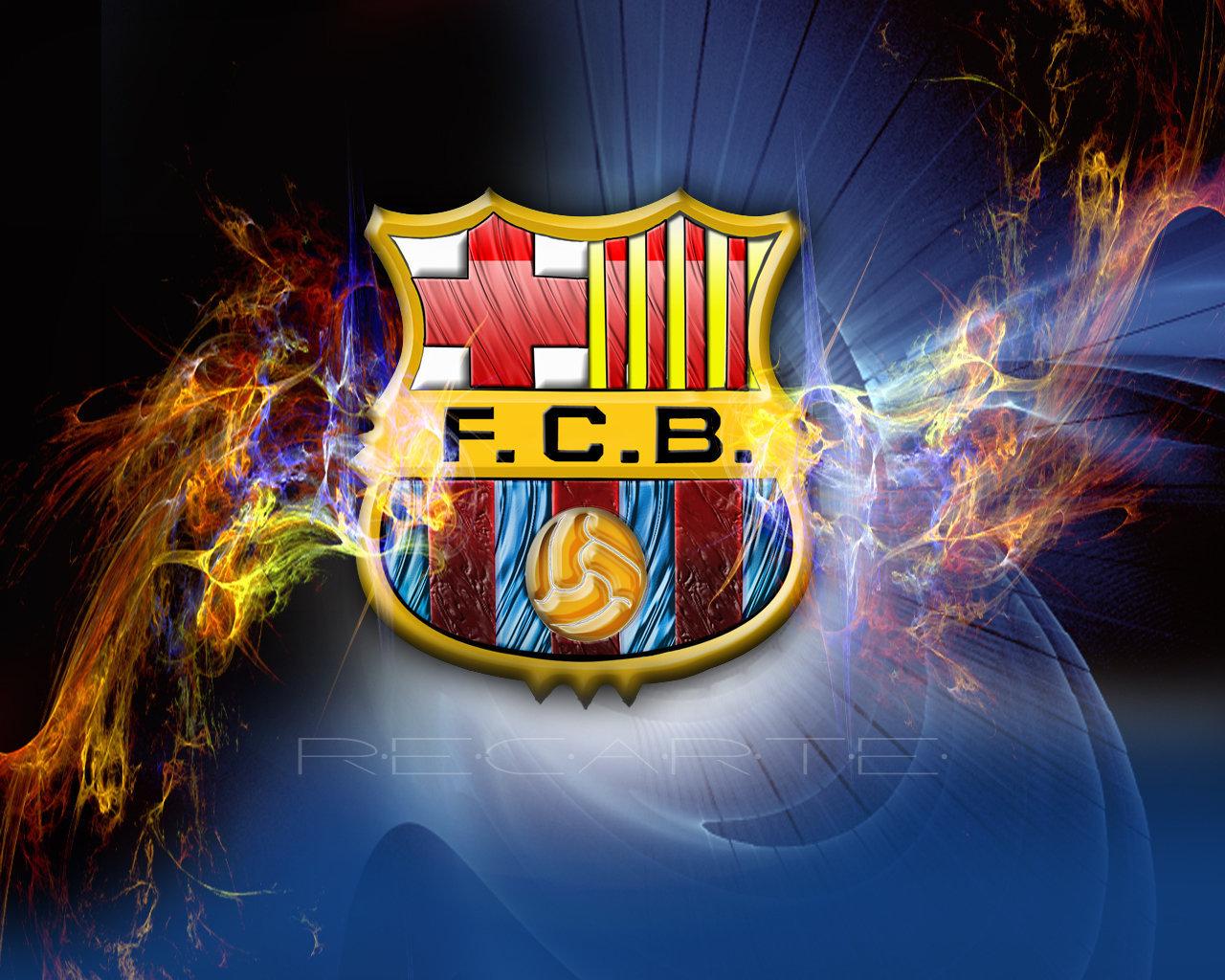 FC Barcelona Logo Wallpaper   FC Barcelona Wallpaper 22614314 1280x1024