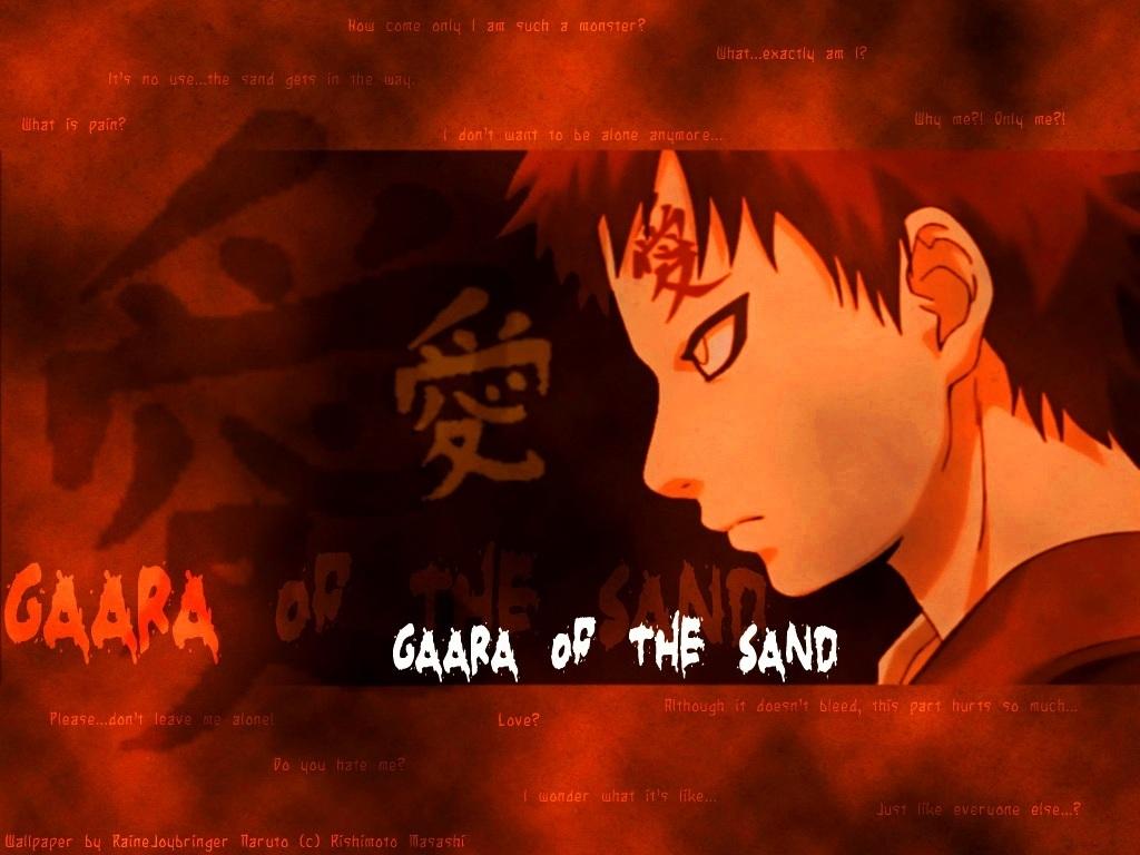 Gaara   Sabaku no Gaara Wallpaper 5528668 1024x768